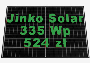 Jinko Solar MM335-60HLA-MBV